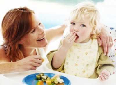 Необыкновенности кормленья деток от года до 7 лет