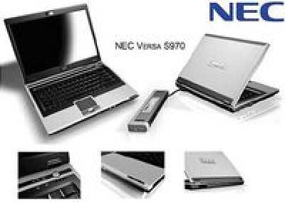 NEC VERSA S970 — ноутбук новейшего поколения на Intel Centrino Pro и с течением времени службы от батарей до 9 часов