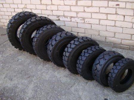 Какие нужны шины для погрузчиков