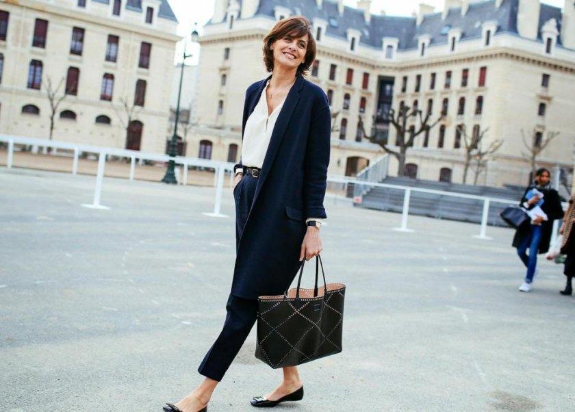 Как одеваться женщине за сорок?