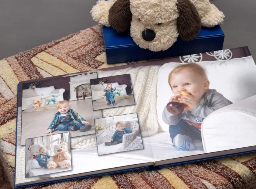 Фотокнига - современный способ хранения фотографий